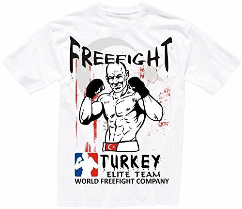 Türkei FREEFIGHT - MMA - Muay Thai Boxen - T-Shirt - 002