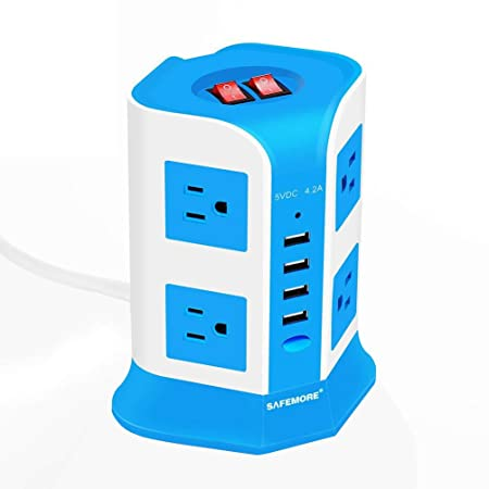 Review USB Power Strip Surge