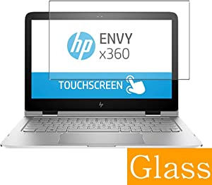 "Synvy Tempered Glass Screen Protector for HP Envy x360 m6-aq100 / aq103dx / aq105dx 15.6"" Visible Area Protective Screen Film Protectors 9H Anti-Scratch Bubble Free"
