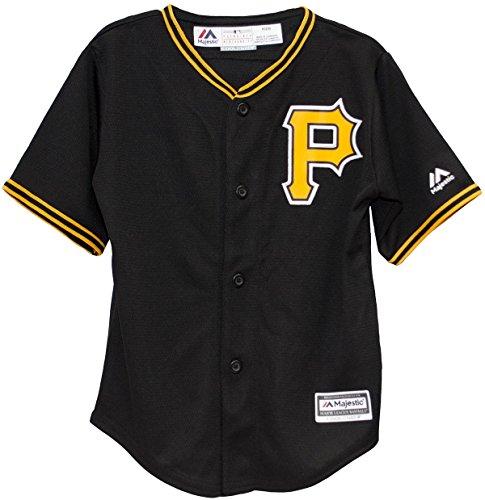 Black Cool Base Jersey - Pittsburgh Pirates Alternate Black Cool Base Infant Jersey (Infant 24 Months)