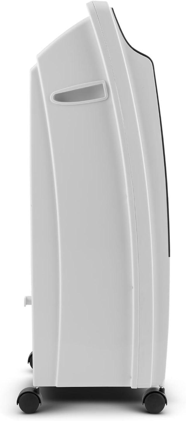 Minuterie Anthracite Ventilateur T/él/écommande 400m/³//h R/éservoir deau de 8 litres Filtre Anti-poussi/ère OneConcept CTR-1 Humidificateur dair 3 Vitesses Rafra/îchisseur dair