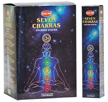 7 Chakra HEM Incense Sticks -35 Sticks Pk (12/box)
