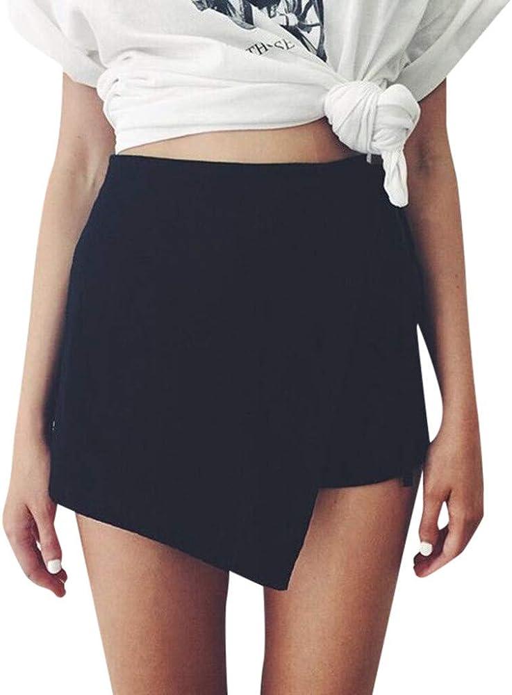 Sayla Faldas Mujer Verano Fiesta Sexy Casual PantalóN Corto Falda ...