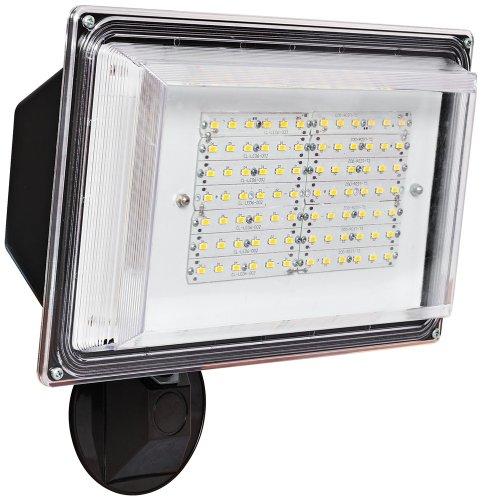 Amax Lighting LED-SL42BZ LED Security Light Wall Pack, 42W, Bronze