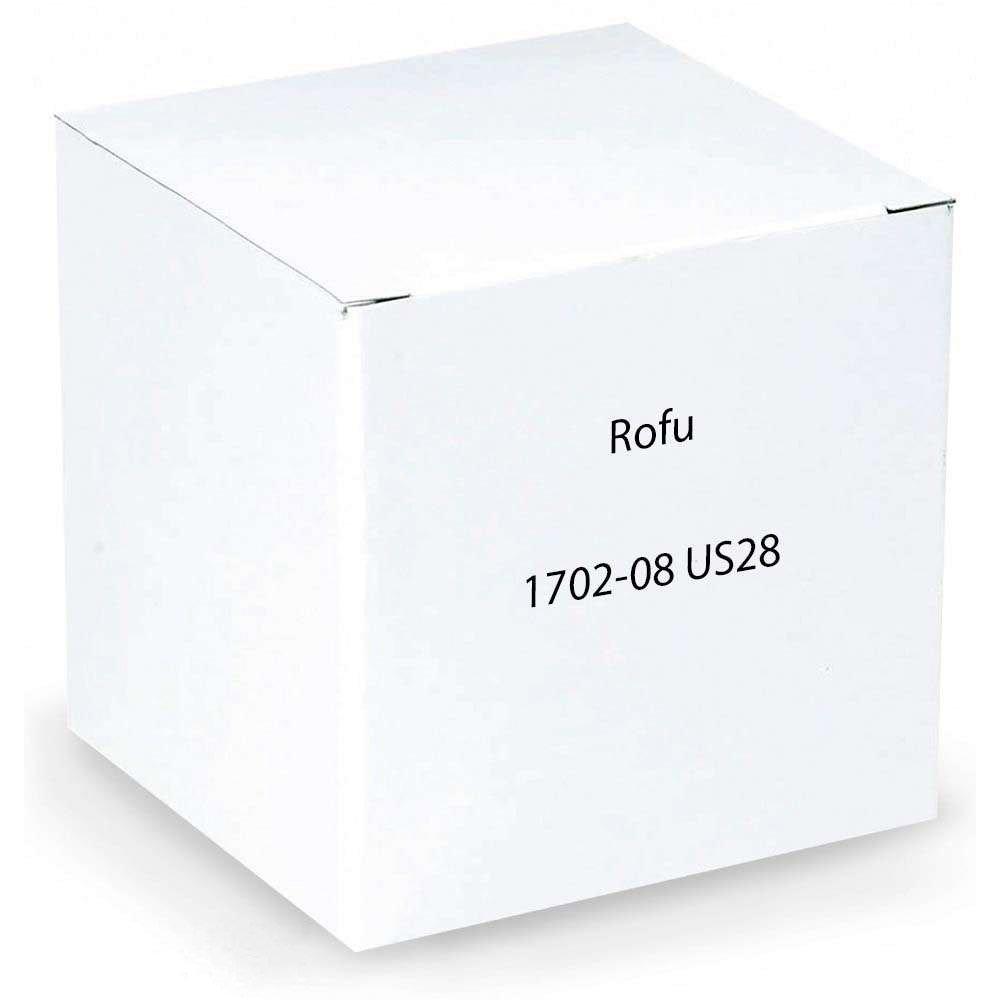 Rofu 1702-08 US28 Electric Strikes for Mortise and Cylindrical Locksets, Aluminium, 24V DC, 1-1/4'' x 4-7/8''