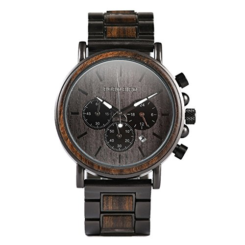 Mens Wooden Watches Luxury...