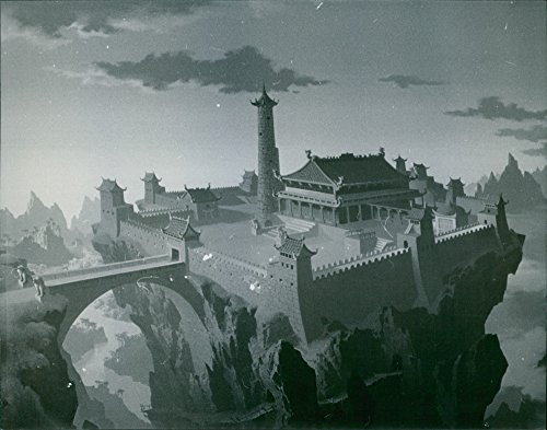 Used, Vintage photo of The mythical kingdom of Xanadu from for sale  Delivered anywhere in USA