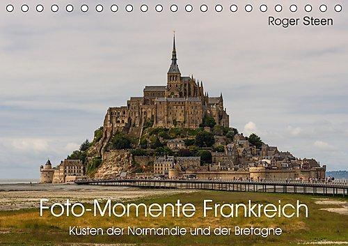 Küsten der Normandie und der Bretagne (Tischkalender 2017 DIN A5 quer)