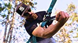Slackline Kit 60ft with Tree Protectors, Ratchet