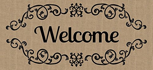Spring Evergreen Enterprises - Evergreen Welcome Scroll Sassafras Switch Mat