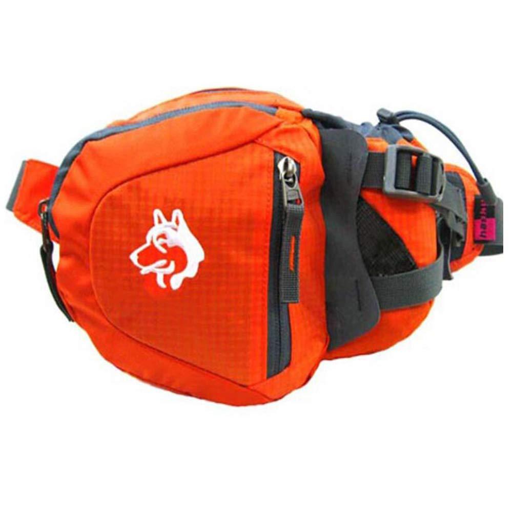 LXYIUN Klettern,Nylon Outdoor Bergsteigen REIT Tasche,Orange