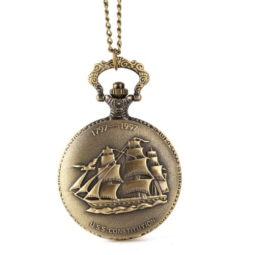 Женские карманные часы ALIENWOLF Unisex Antique