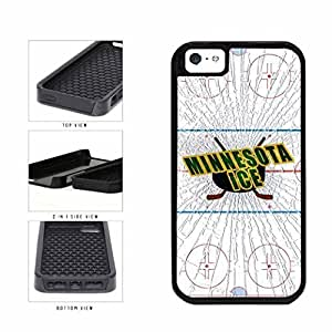 Mlb Minnesota Twins Baseball Soft Gel PC Hard Skin Cover Case Compatible With For Iphone 5C Case Cover