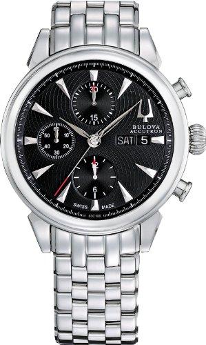 Bulova Accutron 63C106 Mens Gemini Chronograph Watch