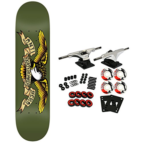 Anti Hero Skateboard Complete Classic Eagle Army 8.38
