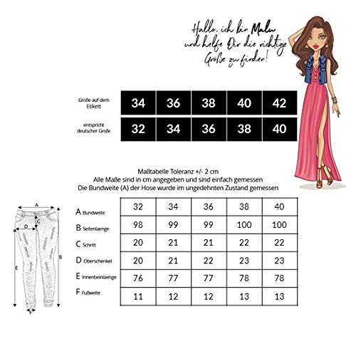 para Mujer Azul Skinny Vaqueros malucas q1xRwPEw