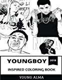 YoungBoy Inspired Coloring Book: Rap Prodigy and Mainstream Gangsta, Hot Billboard Artist and Millenial Culture Inspired Adult Coloring Book (YoungBoy NBA Coloring Book)