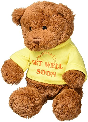 Gund T-Shirt Bear Get Well Soon Plush, 12
