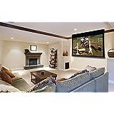 "Stewart Filmscreen Cima 100"" Electriscreen 16:9 12"" Black Drop HDTV Format Above Ceiling Projection Screen (Neve)"