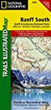 #5: Banff South [Banff and Kootenay National Parks] (National Geographic Trails Illustrated Map)