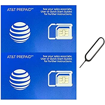 Amazon.com: At&t Nano SIM Card for iPhone 5, 5c, 5s, 6, 6 ...