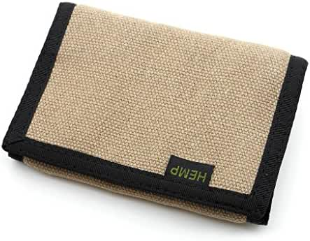 Hempmania Hemp Eight Compartment Tri-fold Wallet