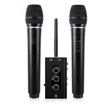 LIUGUANJIANG National K Song - Micrófono inalámbrico para ...