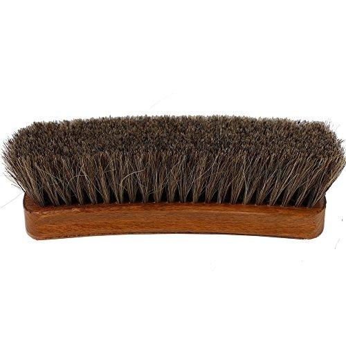 FootFitter Shoe Brush Diplomat Exclusive Jumbo, Grey-Brown