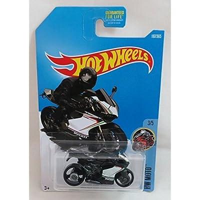 Hot Wheels 2020 HW Moto Ducati 1199 Panigale (Motorcycle) 187/365, Black: Toys & Games