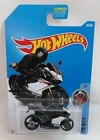 Hot Wheels 2017 HW Moto Ducati 1199 Panigale (Motorcycle) 187/365, Black