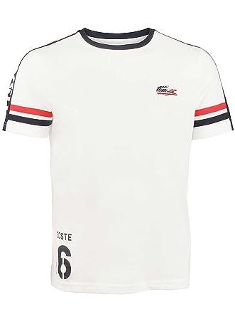 0b21ef2637 Lacoste Olympique Supporter la Victoire Athletic T-Shirt Fan T-Shirt pour  Homme -