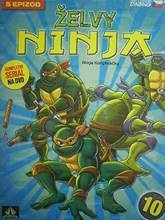 Amazon.com: Zelvy Ninja - 1. serie DVD 10 (Teenage Mutant ...