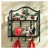 Country Apple Wall Shelf