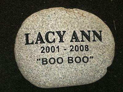 pet-memorial-grave-marker-headstone-9-river-rock