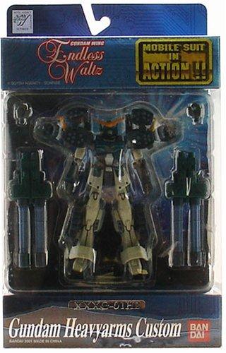 Gundam MSIA Endless Waltz Gundam Heavyarms Custom Figure (japan import)