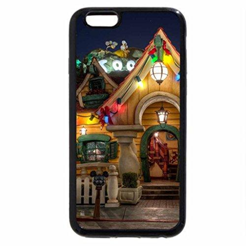 iPhone 6S / iPhone 6 Case (Black) Xmas house