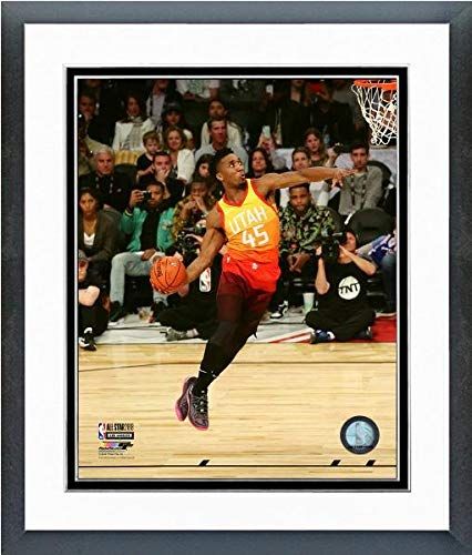 - Donovan Mitchell Utah Jazz Slam Dunk Contest 2018 NBA All-Star Game Action Photo (Size: 12.5