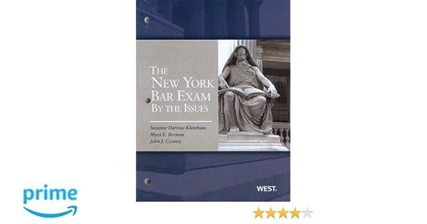 new york bar exam essay subjects