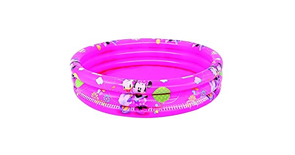 Amazon.com: Minnie Mouse 3-Ring piscina hinchable: Toys & Games