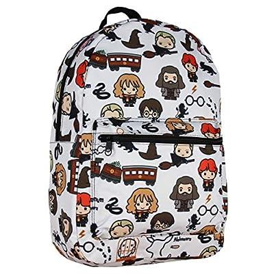 Harry Potter Laptop Backpack Chibi Characters Art Sublimated School Bag | Kids' Backpacks