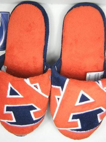 Auburn Tigres 2011 Grand Logo Deux Tons Pantoufles Uniques