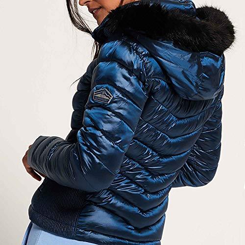Luxe Superdry Z1pfqf4w4 Chaqueta Mujer Hooded Humdrum Azul Para TdWFzHnSwq
