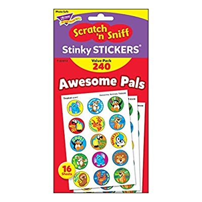 Trend Enterprises T-83914 Stinky Stickers Value Pack, Awesome Pals, 240 Stickers: Industrial & Scientific