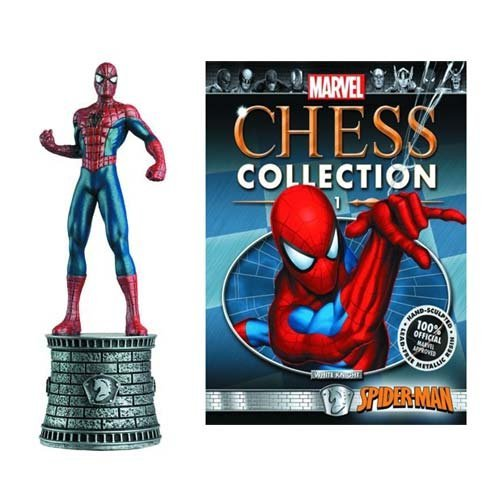 Marvel Chess Collection 1 Spider-Man / Marvel Chess Collection1 Spider-man [parallel import] -  Eaglemoss Publications, GM-B01KPHTCEM