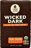 Taza Chocolate Dark Chocolate Bar Stone Ground Wicked Dark -- 2.5 oz - 2 pc