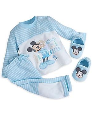 Mickey Mouse Layette Knit Set 12-18 M