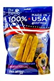 Pet Factory U.S.A. Beef Hide Assorted Flavored Chip Rolls Chews for Dogs (18 Pack), Small/5''