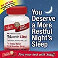 Schiff Melatonin Ultra. 300 Tablets. 3mg Melatonin + 25mg L-Theanine + 25mg GABA + Chamomile & Valerian Extracts Personal Healthcare / Health Care