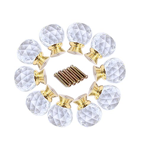 gold and crystal knobs - 4