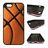 CorpCase iPhone 6 Case / iPhone 6S (4.7') Case - Basketball/ Hybrid ULTRA Protective iphone 6 Case With Great Style - Features Unique 2-in-1 Hybrid protection with TPU + Plastic.